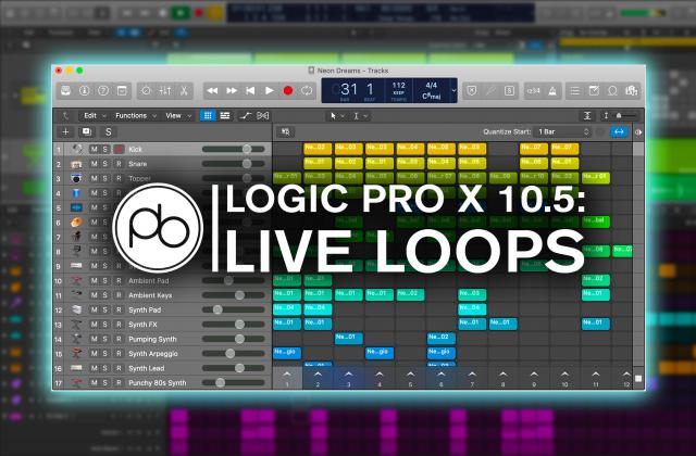 Logic Pro Tutorials From Point Blank Music School