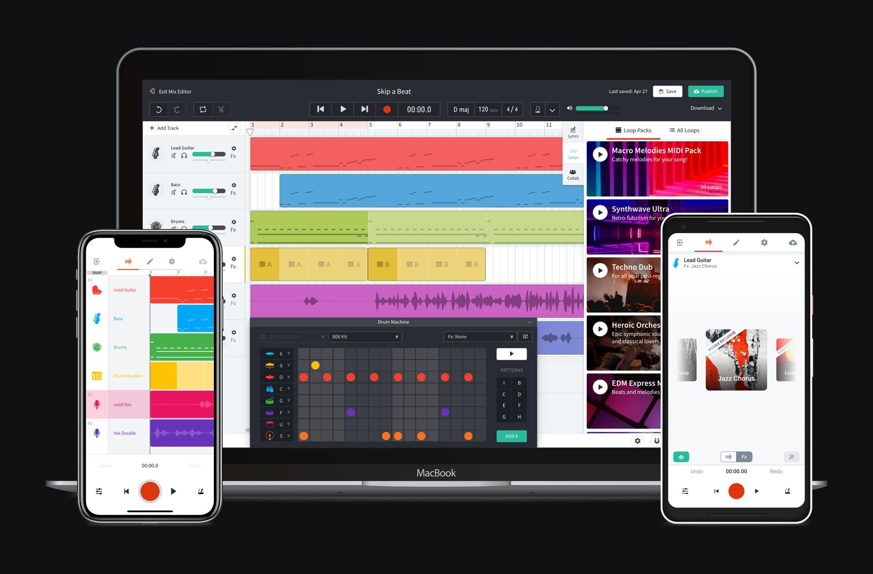 BandLab   Unlimited FREE Instant Online Audio Mastering