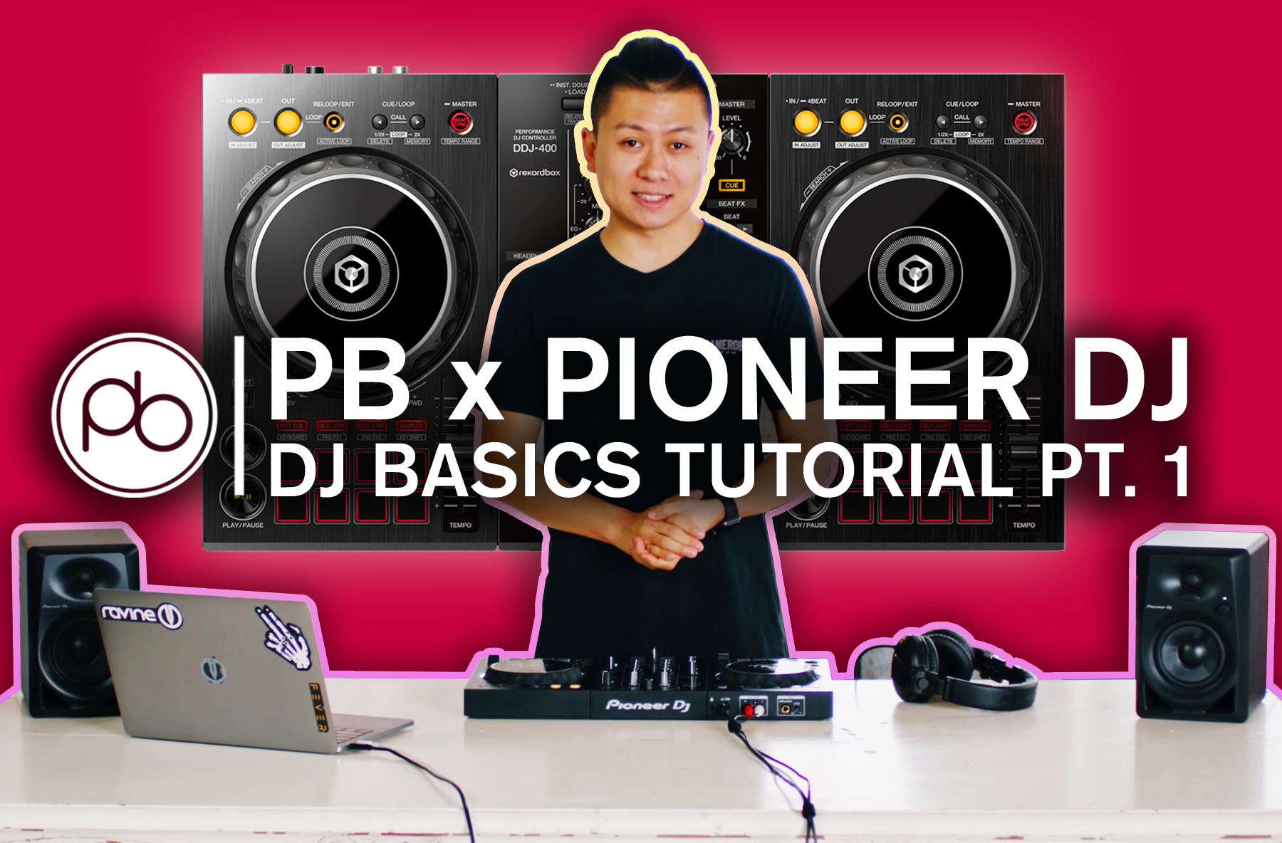 Watch Point Blank's DDJ-400 Basics Tutorial