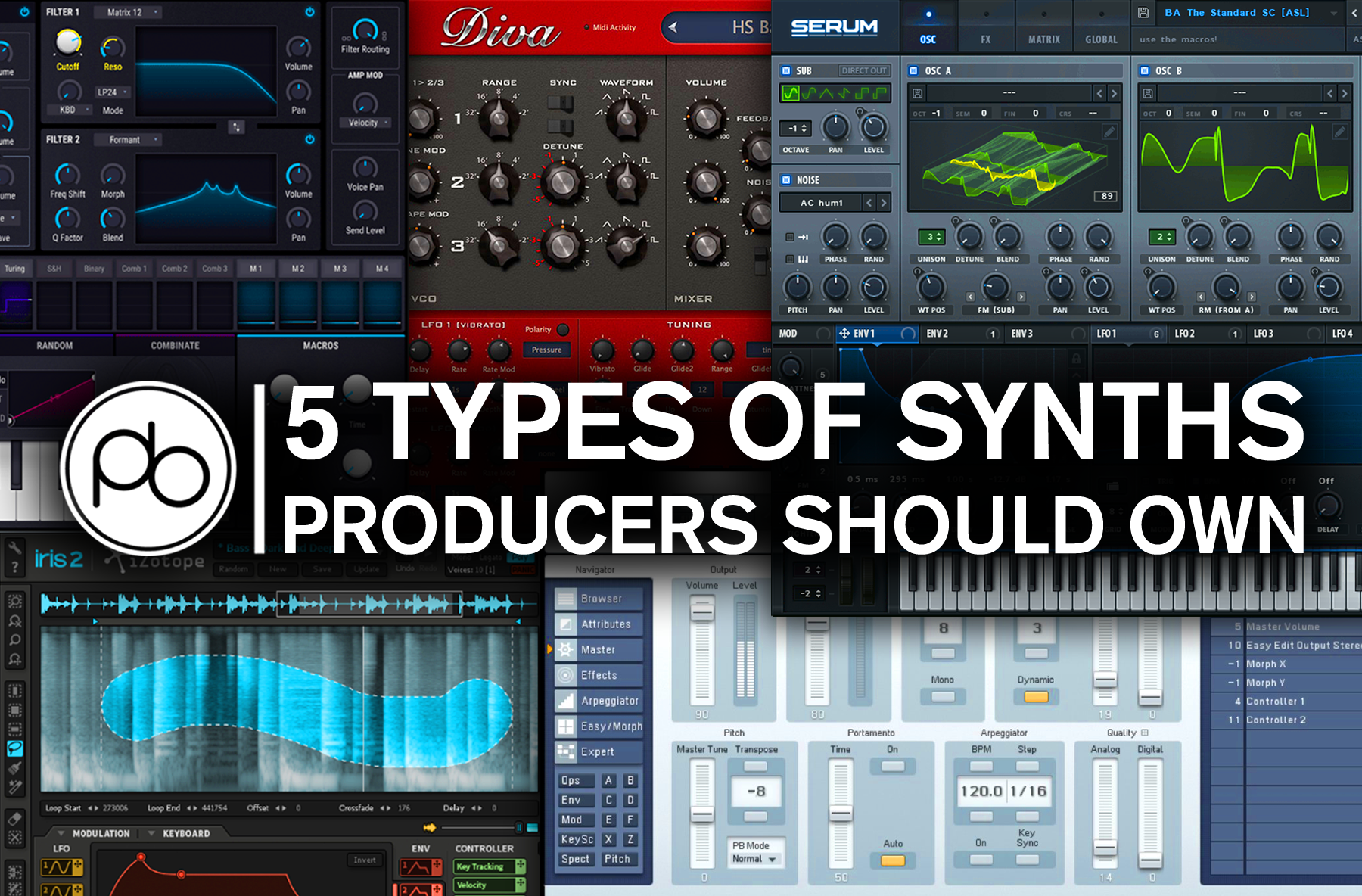 5 Fundamental Synths Every Producer Should Own