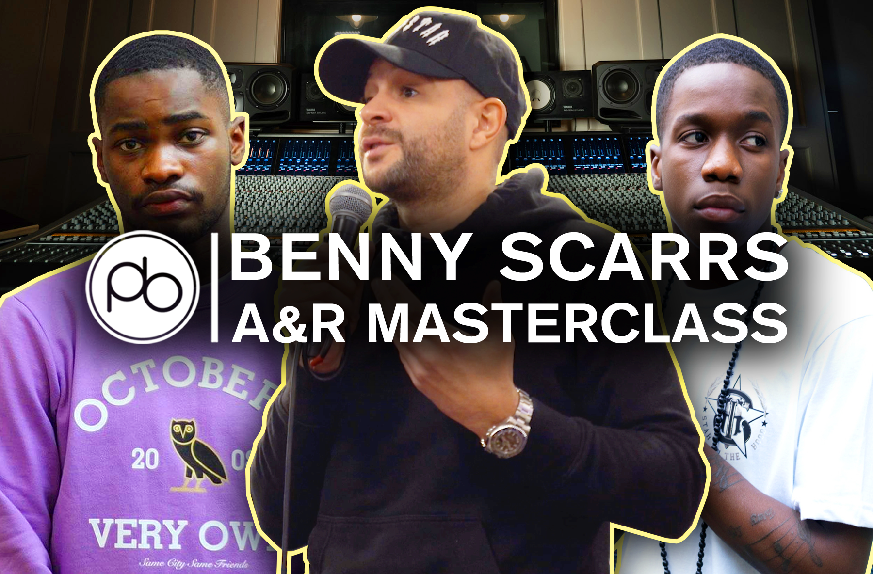 Watch Lead A&R Benny Scarrs Talk Navigating the Music Industry (Dave, Tinchy Stryder)